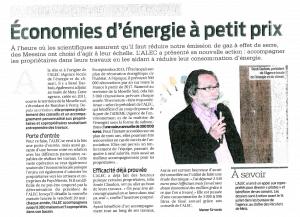 26152016 - Article - Conférence de Presse - LA SEMAINE